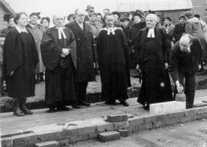 St Margaret's Foundation Stone Ceremony 1952